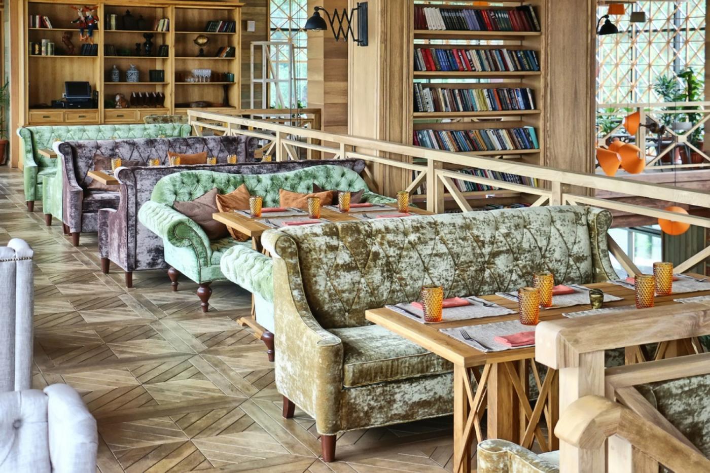 Кафе Библиотека в Новопеределкино фото 8
