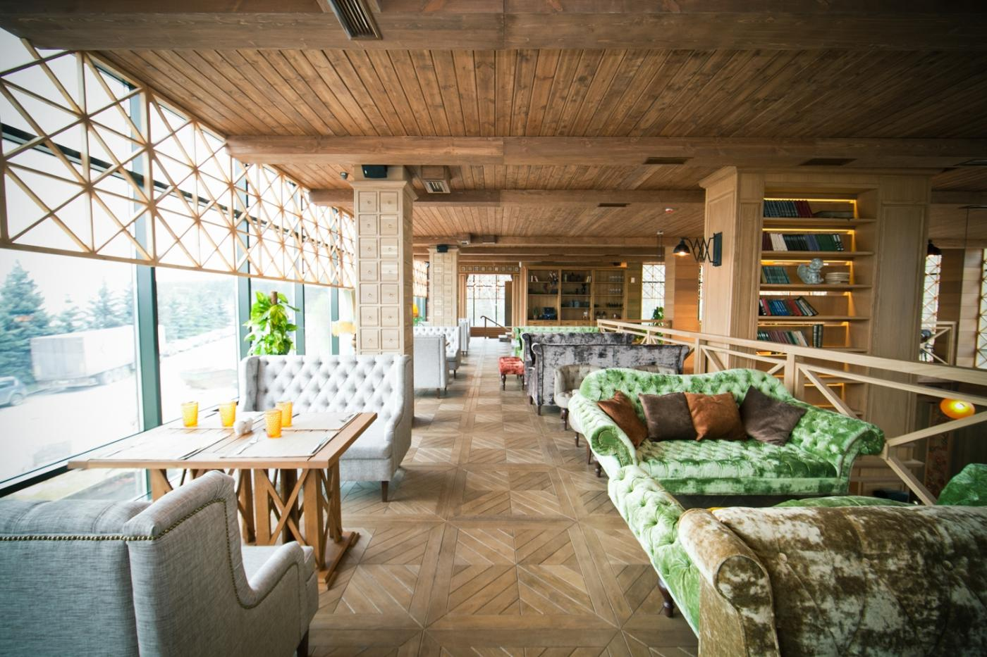 Кафе Библиотека в Новопеределкино фото 16