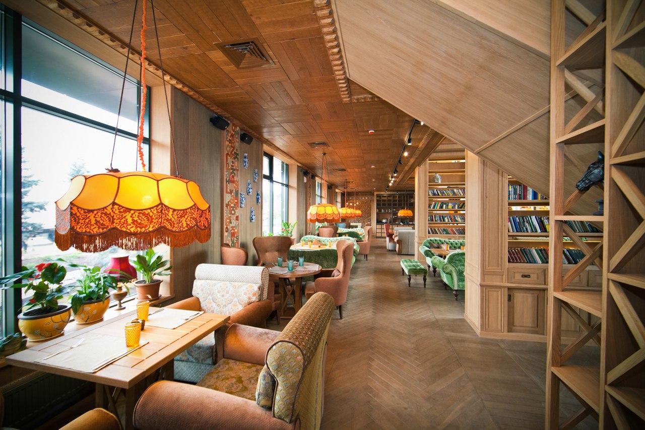 Кафе Библиотека в Новопеределкино фото 23