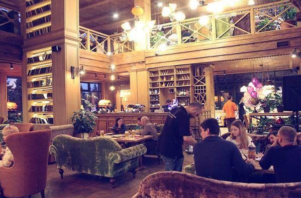 Кафе Библиотека в Новопеределкино фото 33