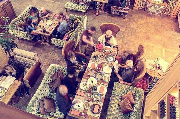 Кафе Библиотека в Новопеределкино фото 35