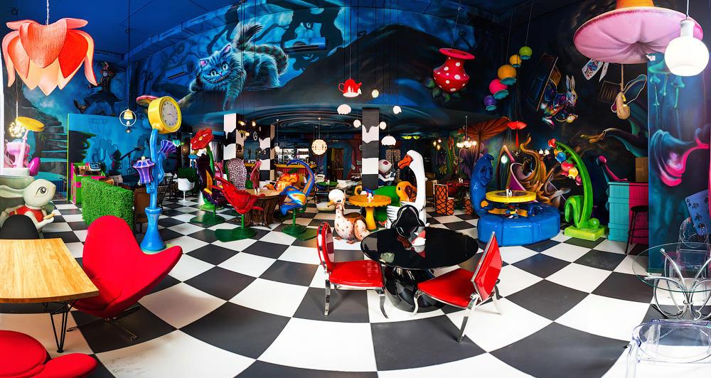 Кафе Алиса в стране чудес фото 4