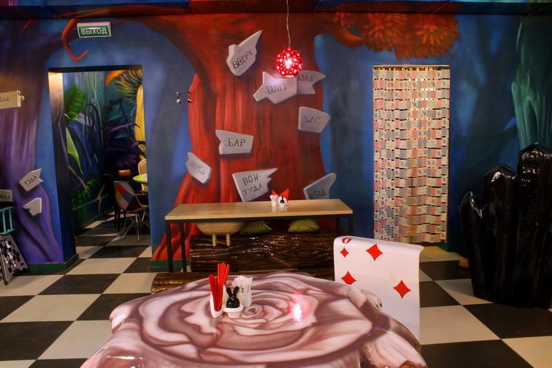 Кафе Алиса в стране чудес фото 6