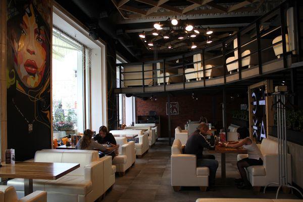 Ресторан Этаж на Тверской фото