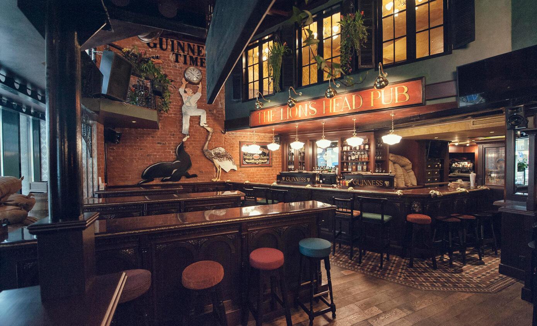 Ирландский Паб Lions Head Pub на Мясницкой (Лайонс Хед Паб - Голова Льва) фото 5