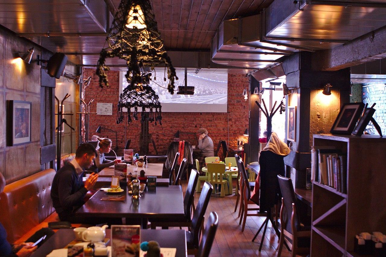Социальное Кафе Город на Парке Победы (Город.Social Cafe) фото 59