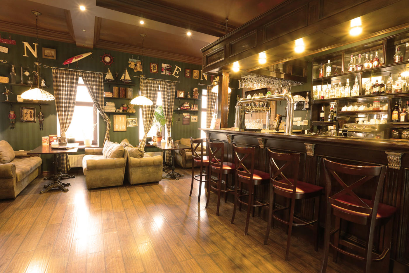 Английский Пивной ресторан London Time Pub на Таганке (Лондон Тайм Паб) фото 4
