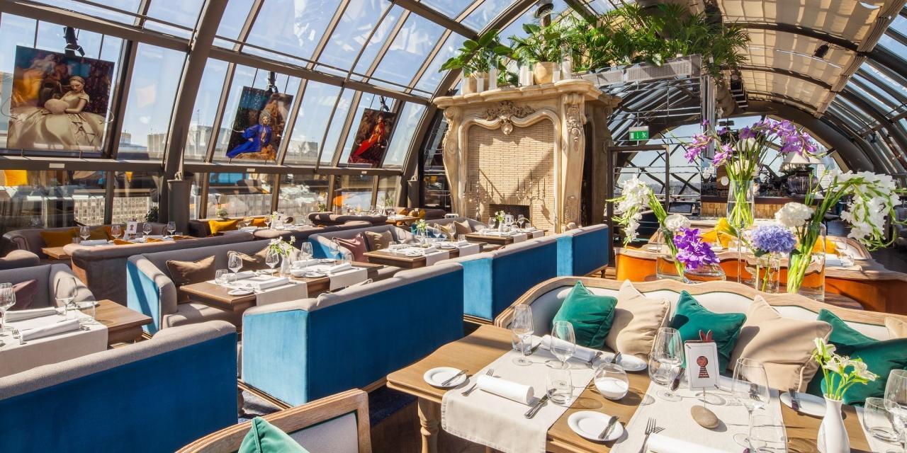 Панорамный Ресторан White Rabbit (Вайт Рэббит / Белый кролик) фото 9