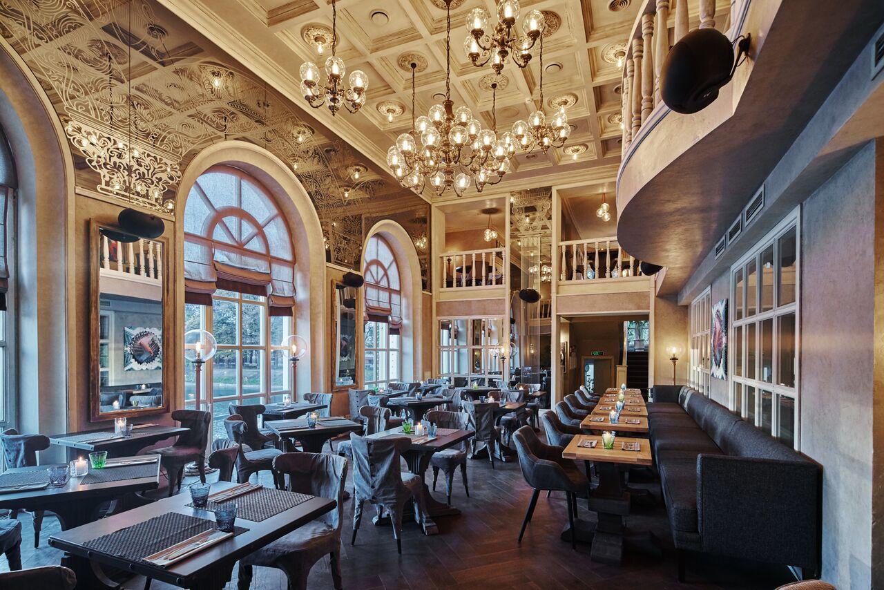 Ресторан Павильон на Патриарших Прудах фото 7