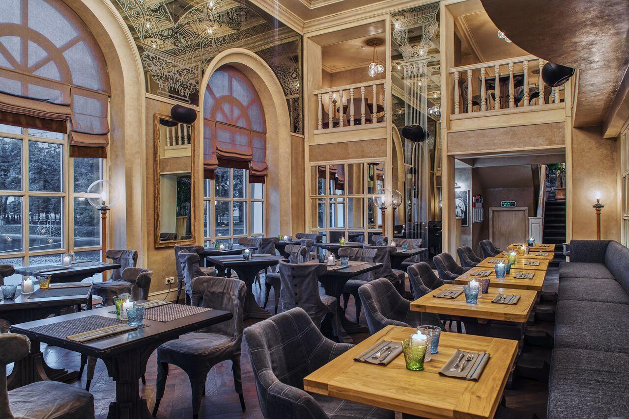 Ресторан Павильон на Патриарших Прудах фото