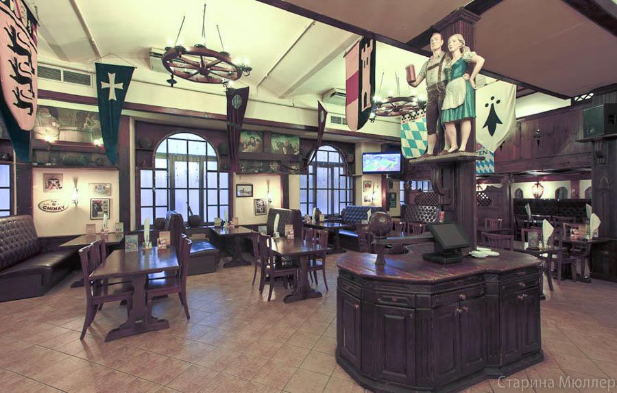 Пивной ресторан Старина Мюллер на Воронцовской (Пролетарская / Крестьянская Застава) фото 2