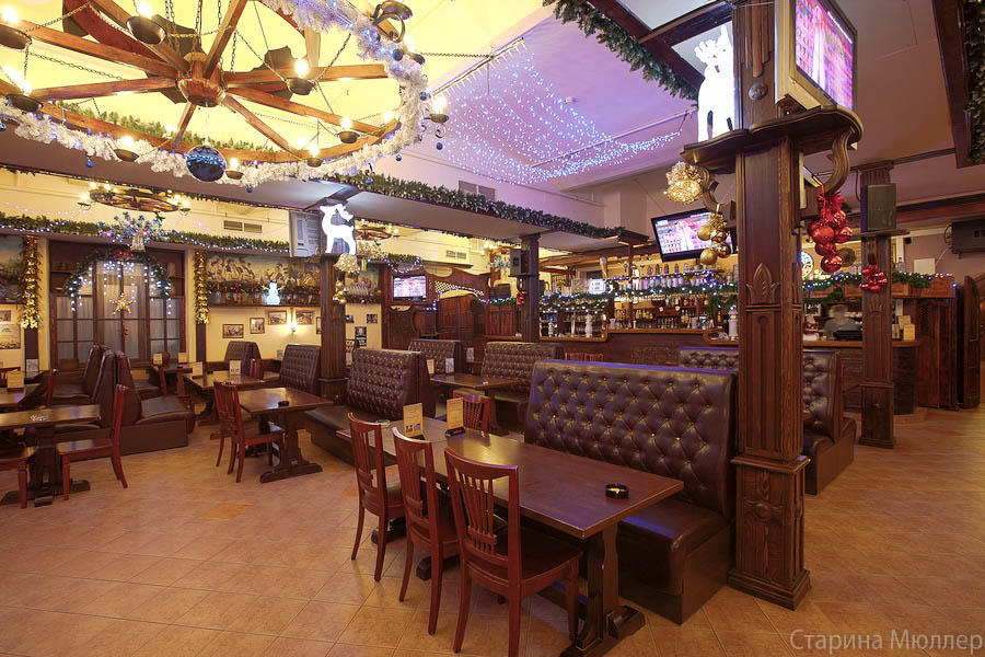 Пивной ресторан Старина Мюллер на Воронцовской (Пролетарская / Крестьянская Застава) фото 1