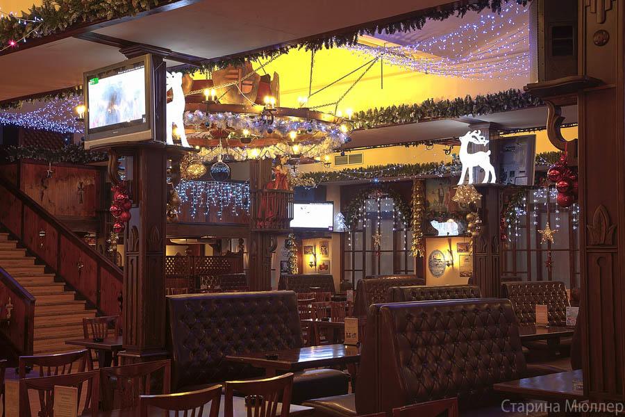Пивной ресторан Старина Мюллер на Воронцовской (Пролетарская / Крестьянская Застава) фото 15