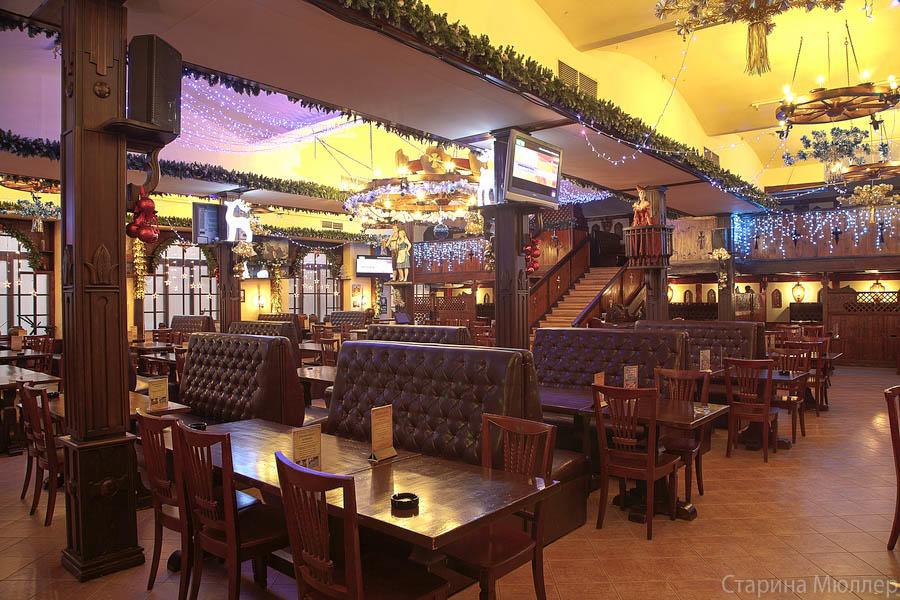Пивной ресторан Старина Мюллер на Воронцовской (Пролетарская / Крестьянская Застава) фото 19