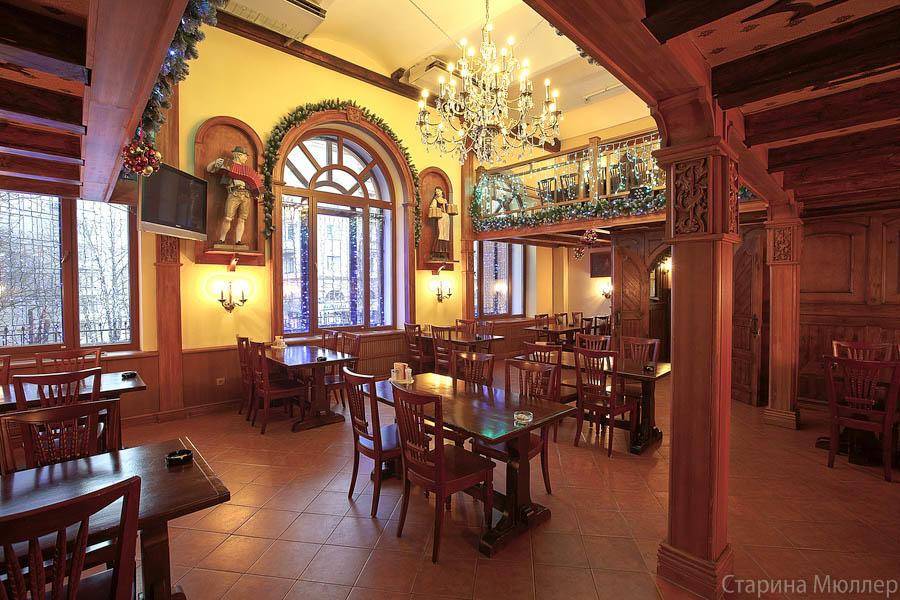 Пивной ресторан Старина Мюллер на Воронцовской (Пролетарская / Крестьянская Застава) фото 21