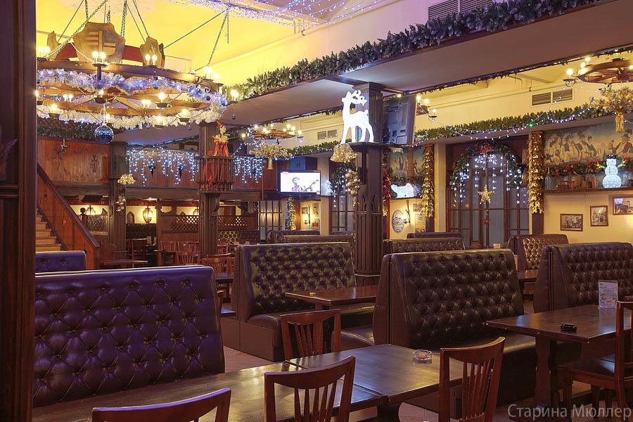 Пивной ресторан Старина Мюллер на Воронцовской (Пролетарская / Крестьянская Застава) фото 22
