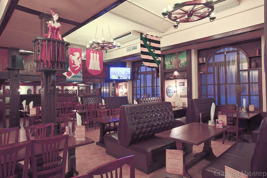 Пивной ресторан Старина Мюллер на Воронцовской (Пролетарская / Крестьянская Застава) фото 25