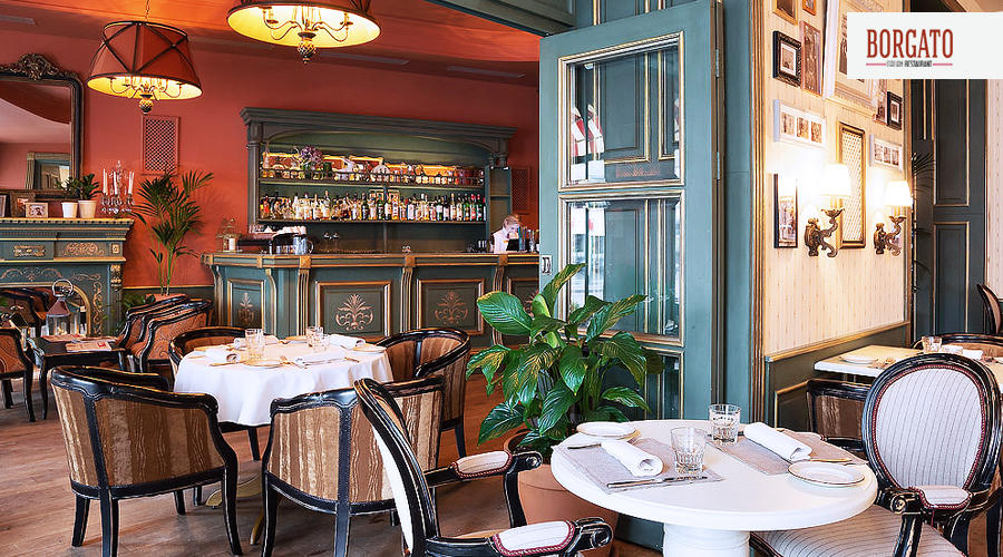 Итальянский Ресторан Боргато на Мясницкой (Borgato) фото 30