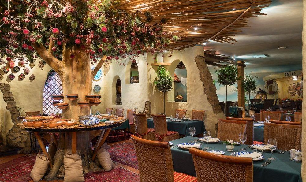 Салат фьюжен ресторан ишак