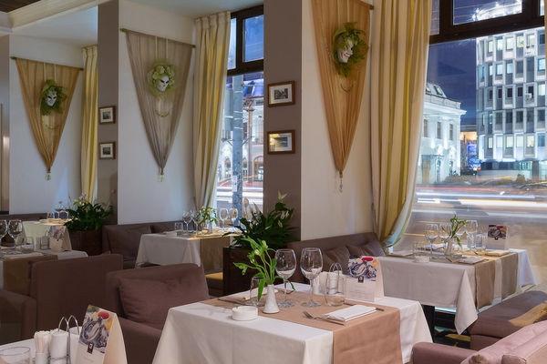 Итальянское Кафе Де Марко на Проспекте Мира фото 19