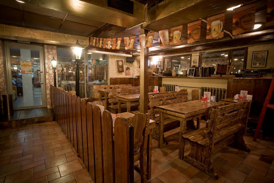 Пивной ресторан Золотая Вобла на Савеловской фото 27