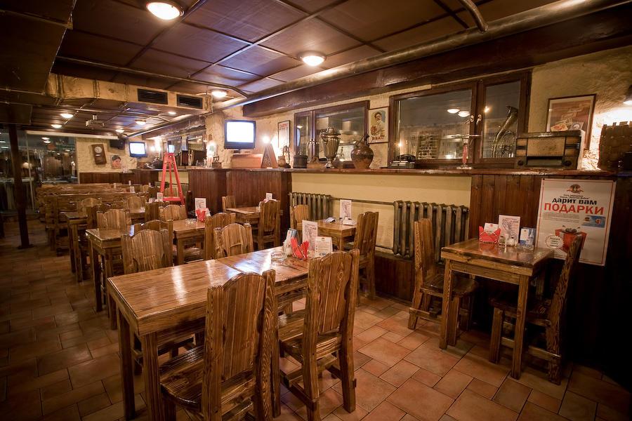 Пивной ресторан Золотая Вобла на Савеловской фото