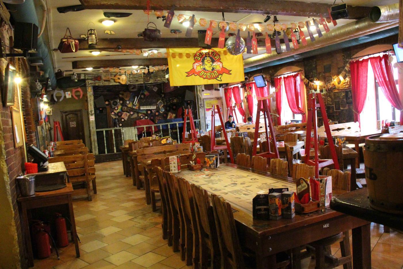 Пивной ресторан Золотая Вобла на Китай-городе фото 4
