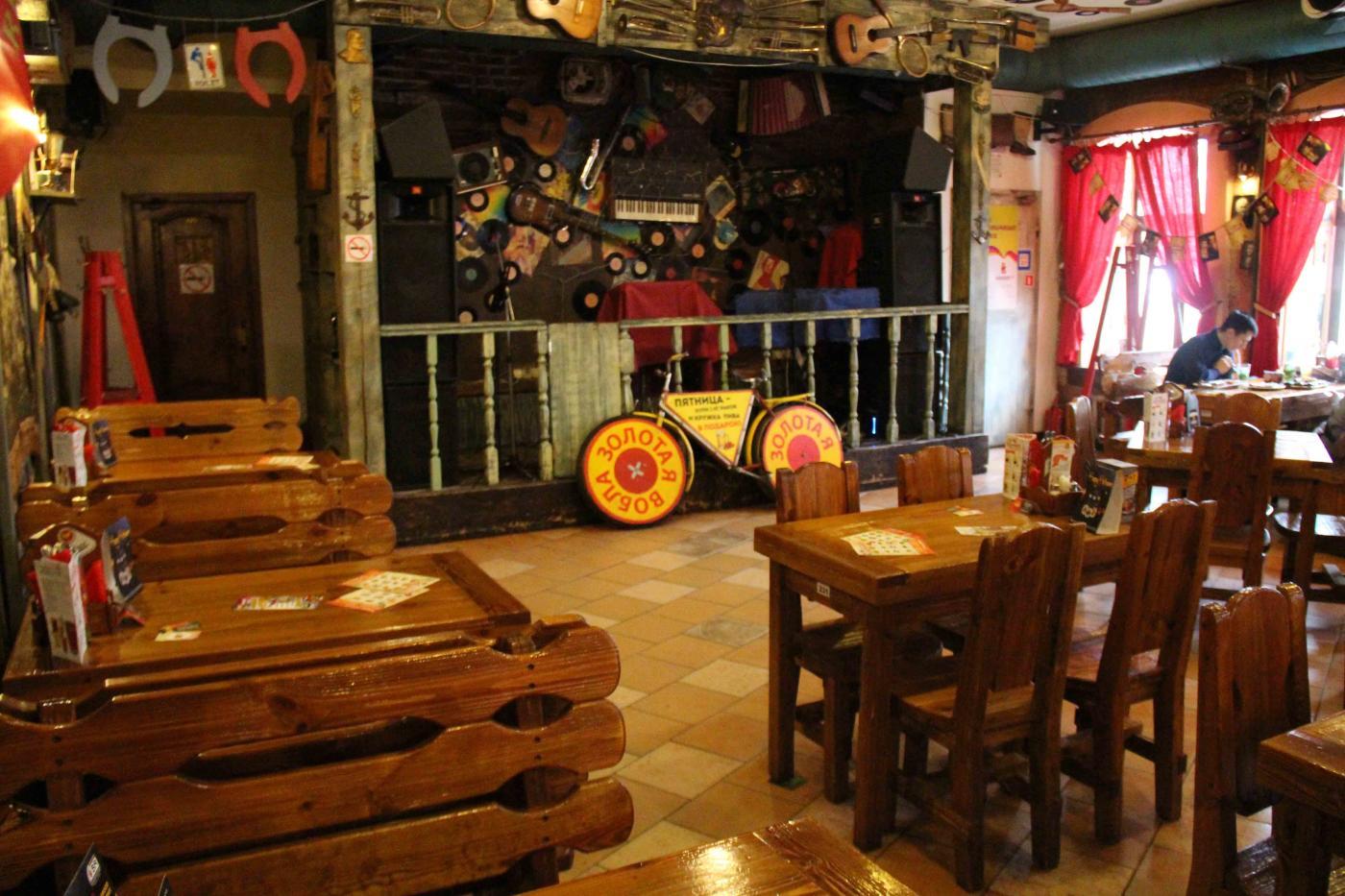 Пивной ресторан Золотая Вобла на Китай-городе фото 6