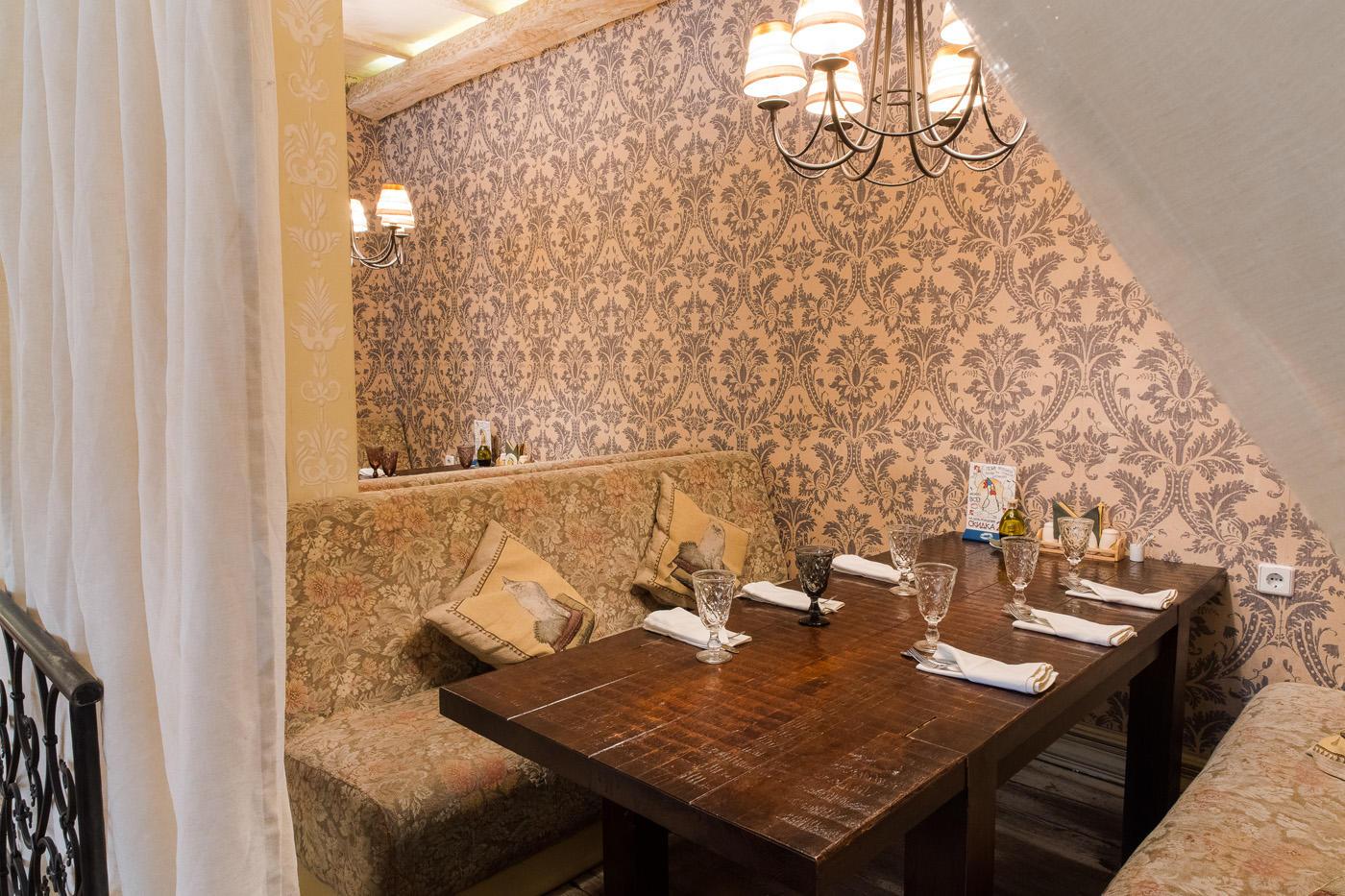 Итальянский Ресторан Бенвенуто на Сретенском Бульваре (Чистые Пруды) фото 5
