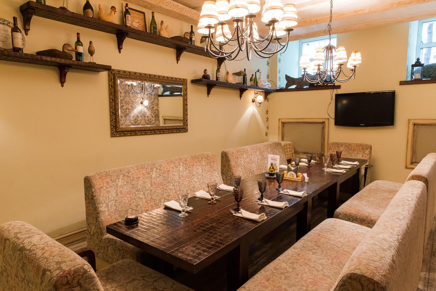Итальянский Ресторан Бенвенуто на Сретенском Бульваре (Чистые Пруды) фото 7