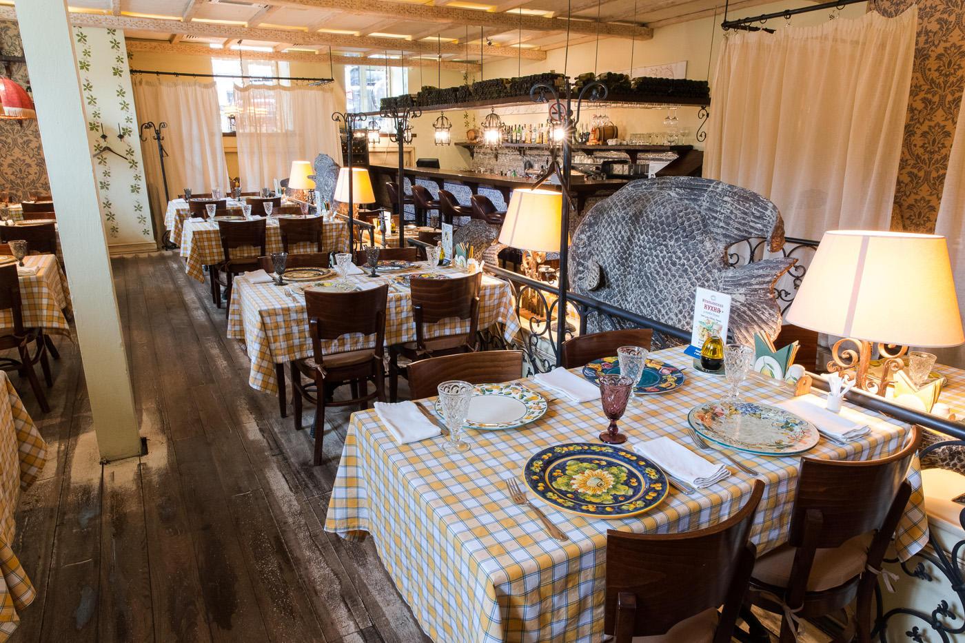 Итальянский Ресторан Бенвенуто на Сретенском Бульваре (Чистые Пруды) фото 11