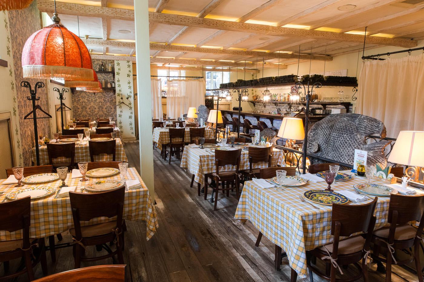 Итальянский Ресторан Бенвенуто на Сретенском Бульваре (Чистые Пруды) фото 12