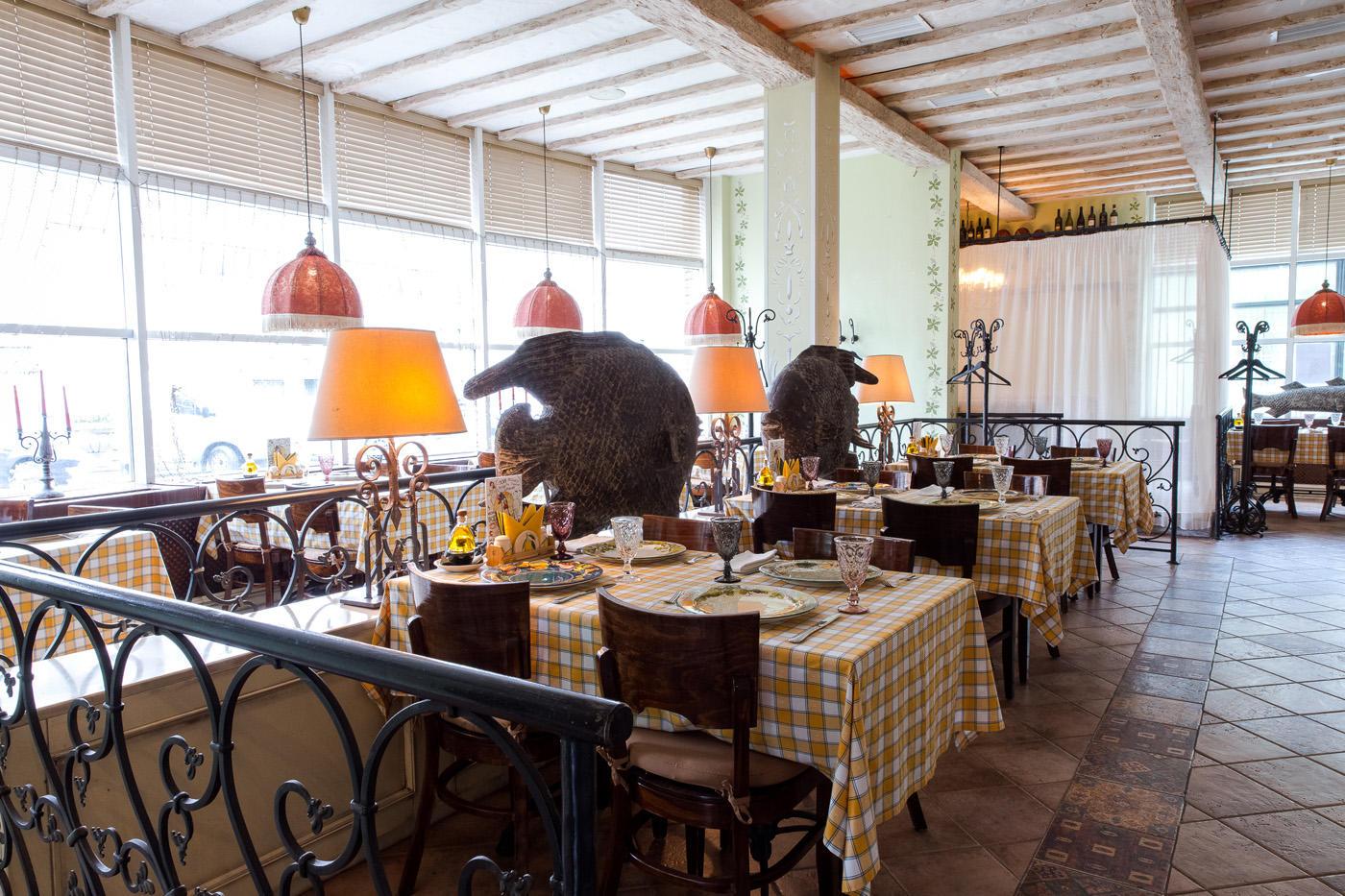 Итальянский Ресторан Бенвенуто на Сретенском Бульваре (Чистые Пруды) фото 17