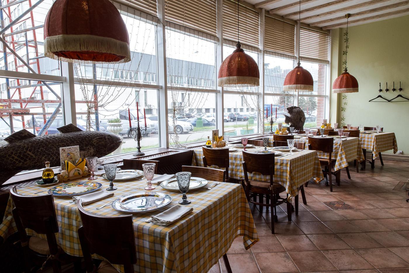 Итальянский Ресторан Бенвенуто на Сретенском Бульваре (Чистые Пруды) фото 20