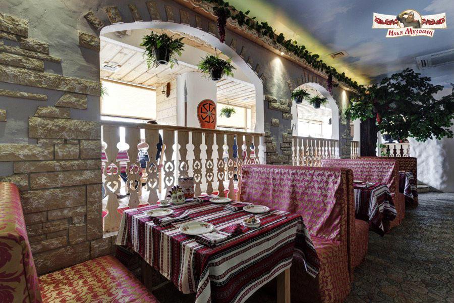 Русский Ресторан Илья Муромец на Преображенской площади фото