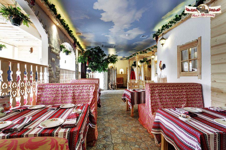 Русский Ресторан Илья Муромец на Преображенской площади фото 1