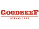 Логотип Goodbeef в ТРЦ Июнь