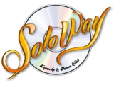 Логотип Караоке Soloway (Соловей)