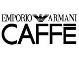 Логотип Кафе Caffe Emporio Armani в ГУМе (Эмпорио Армани)