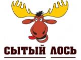 Логотип Ресторан Сытый лось в Коломенском проезде