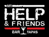 Логотип Бар Mr. Help and Friends Bar (Мистер Хелп Бар энд Френдс)