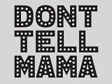 Логотип Don't Tell Mama