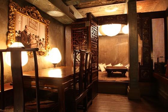 Интерьер одного из самых интересных ресторанов Москвы