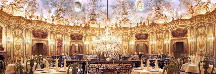 Поистине шикарный интерьер ресторана Турандот