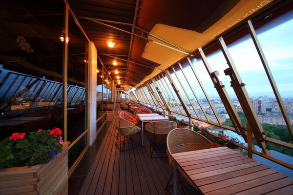 Резервирование столика в ресторане Sky Lounge одно удовольствие через GdeBar.ru!