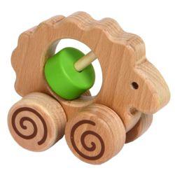 Зелёная деревянная овечка - символ 2015 года. Как его встретить? Забронировать столик в ресторане на Новый год на GdeBar.ru!