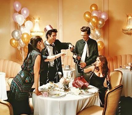 Забронировать стол на Новый год на через портал GdeBar.ru - прекрасная идея!