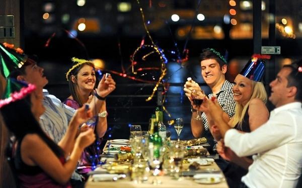 Встречаем Новый год в ресторане Москвы с GdeBar.ru!